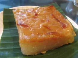 cassava pudding